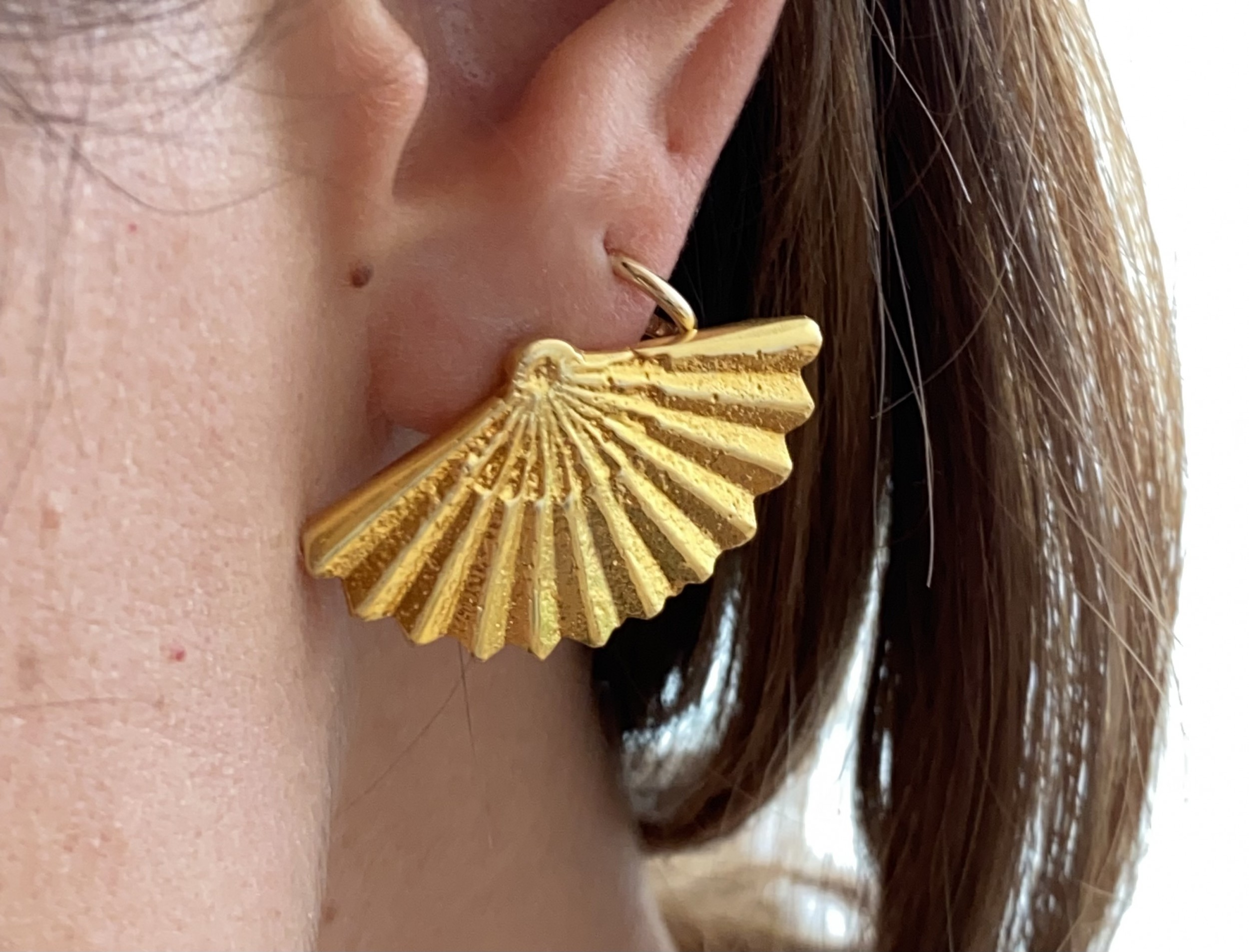 Alexandros Tzannis Studio - Full Fan Earring