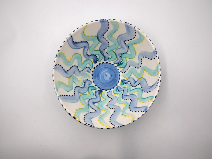 AM - Rays Serving Bowl