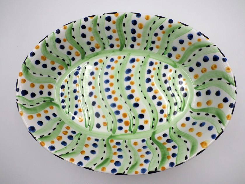 AM - Swirl Deep Dish