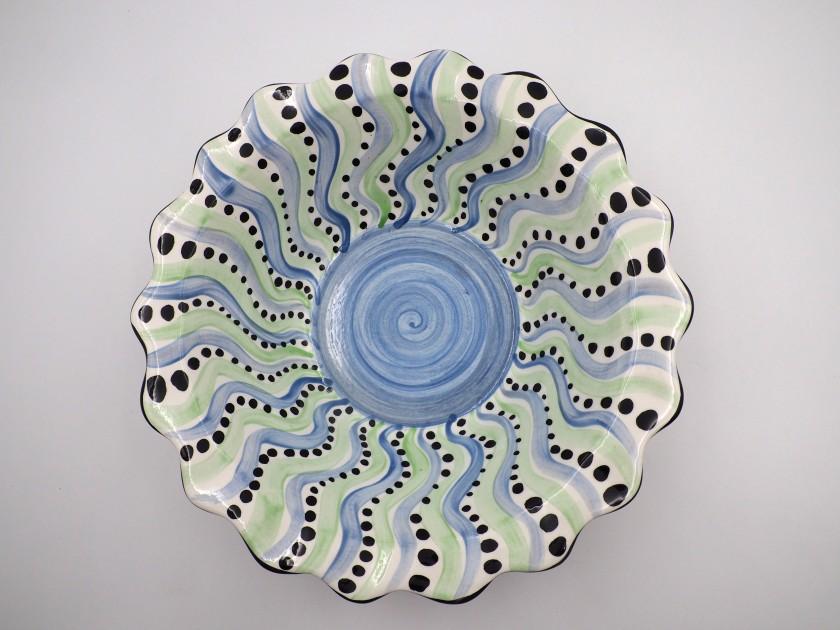 AM - Swirl Serving Bowl