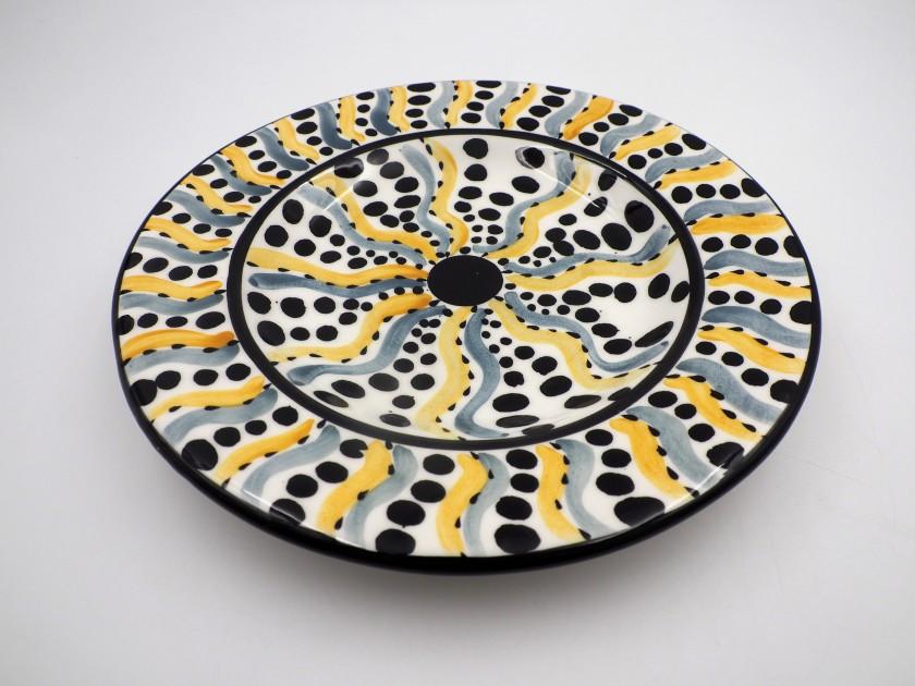 AM - Swirl Dinner Plate
