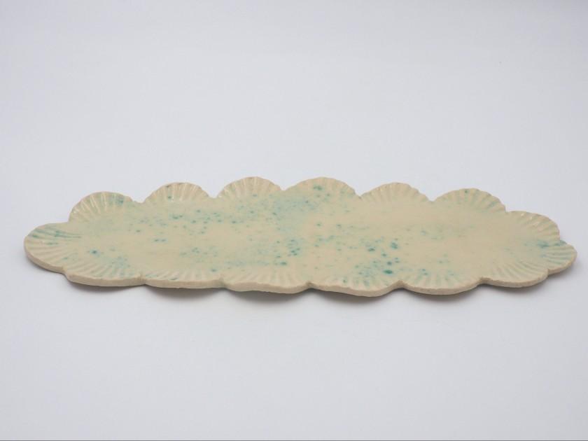 AM - Decorative Shell Platter