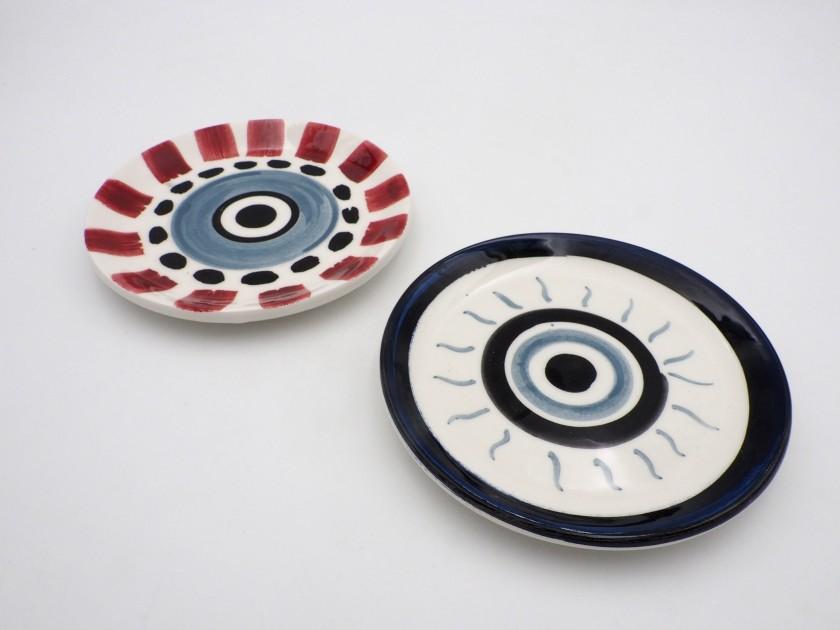 ARCH - Evil Eye Plates (Set of 8)