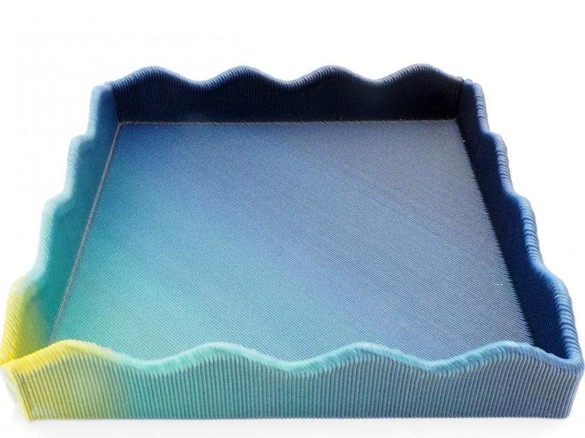 Blue Cycle - Ocean Sun Tray