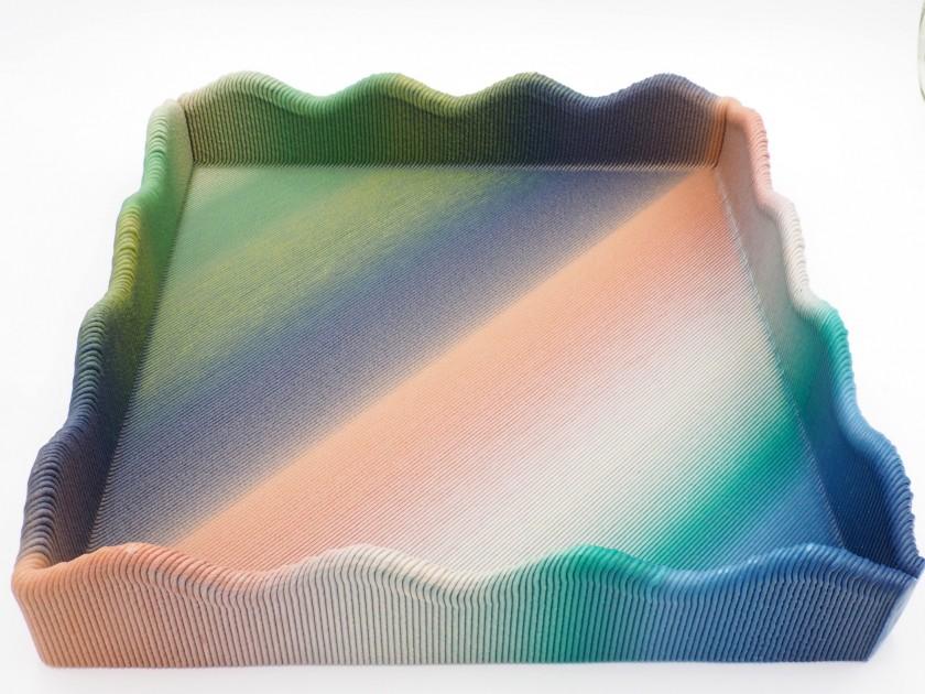 Blue Cycle - Pastel Rainbow Tray