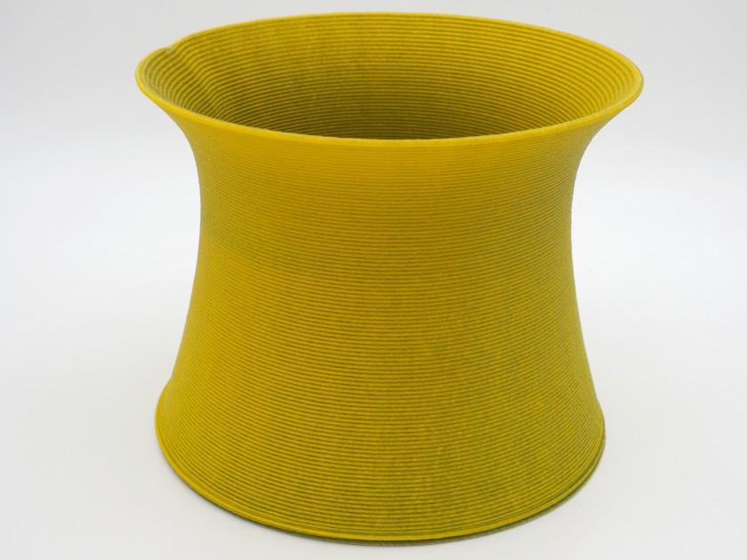 Blue Cycle - Yellow Vase