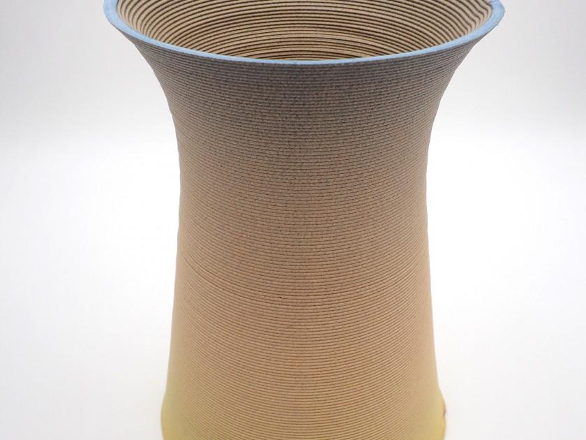 Blue Cycle - Sunrise Vase